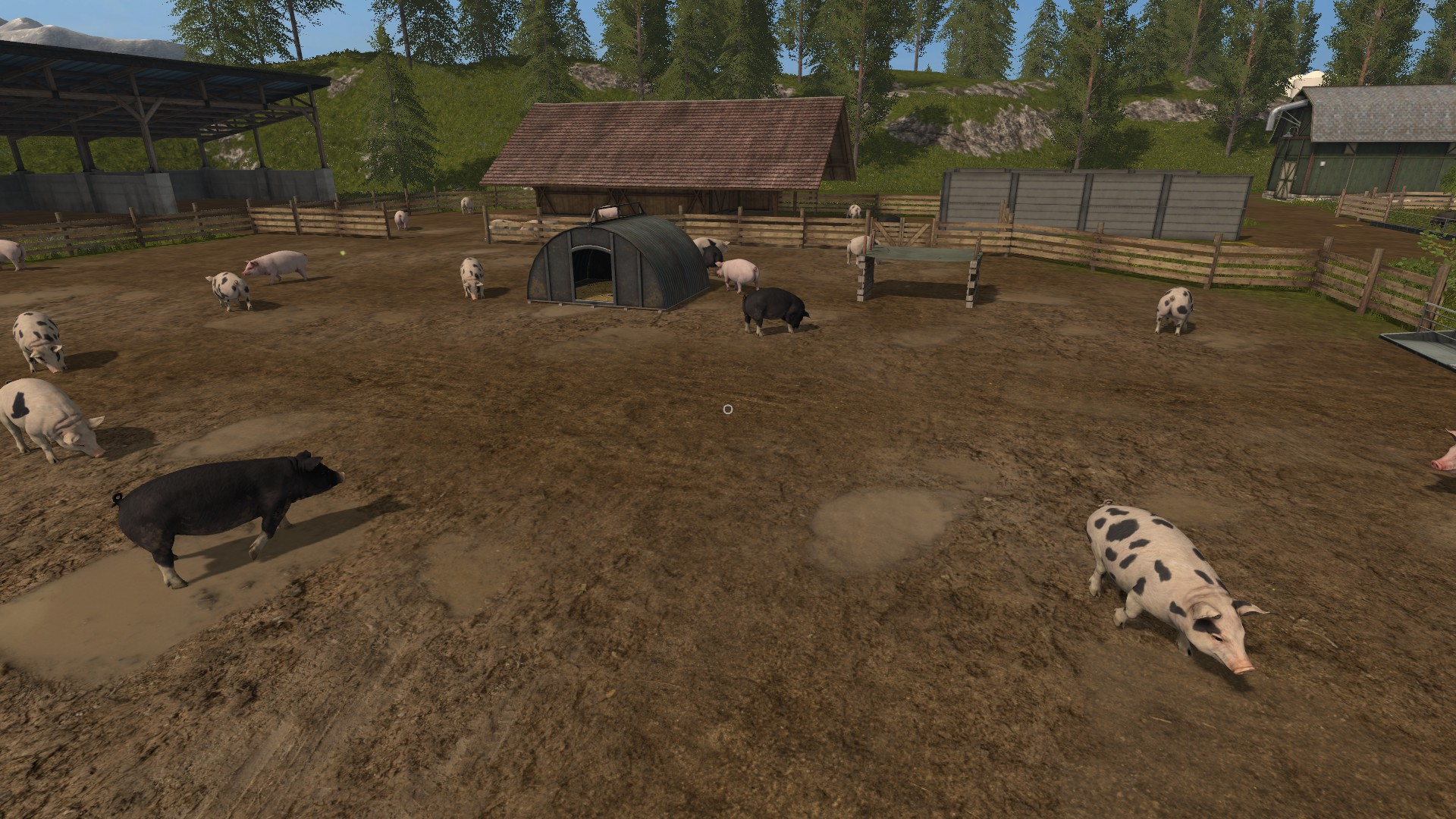 Giga Farm V2.0 MAP LS2017 - Farming simulator 17 / 2017 mod Map Of My Farm on map or, drawing of my, timeline of my, time of my,