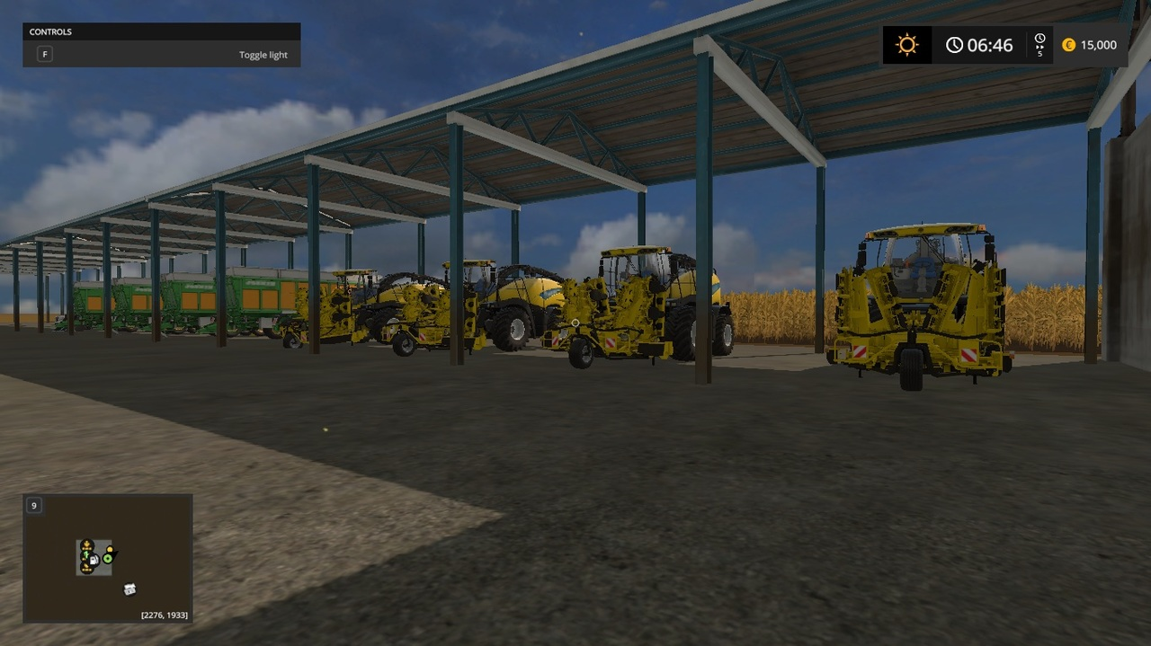 Maize Map 4x FS2017 - Farming simulator 17 / 2017 mod