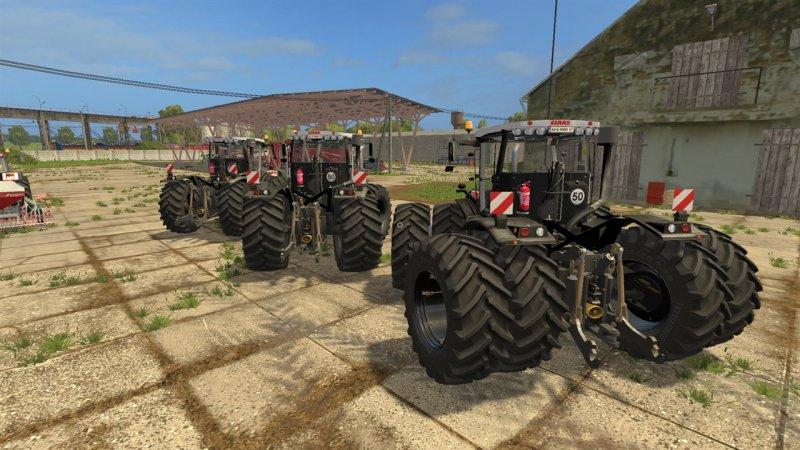 CLAAS XERION 3800 VC BLACK LS17 - Farming simulator 17