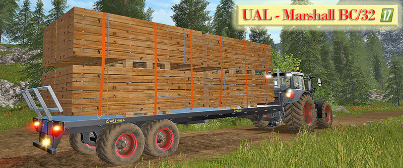 Ual marshall bc 32 boards palette v 1 0 ls17 farming for Acheter planche de bois