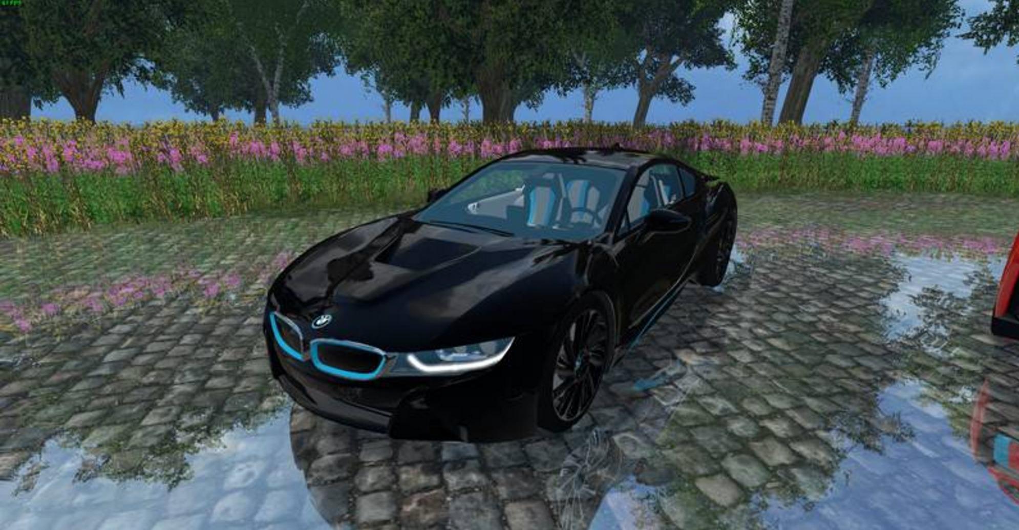 Bmw I8 Edrive V Car Ls17 Farming Simulator 17 2017 Mod