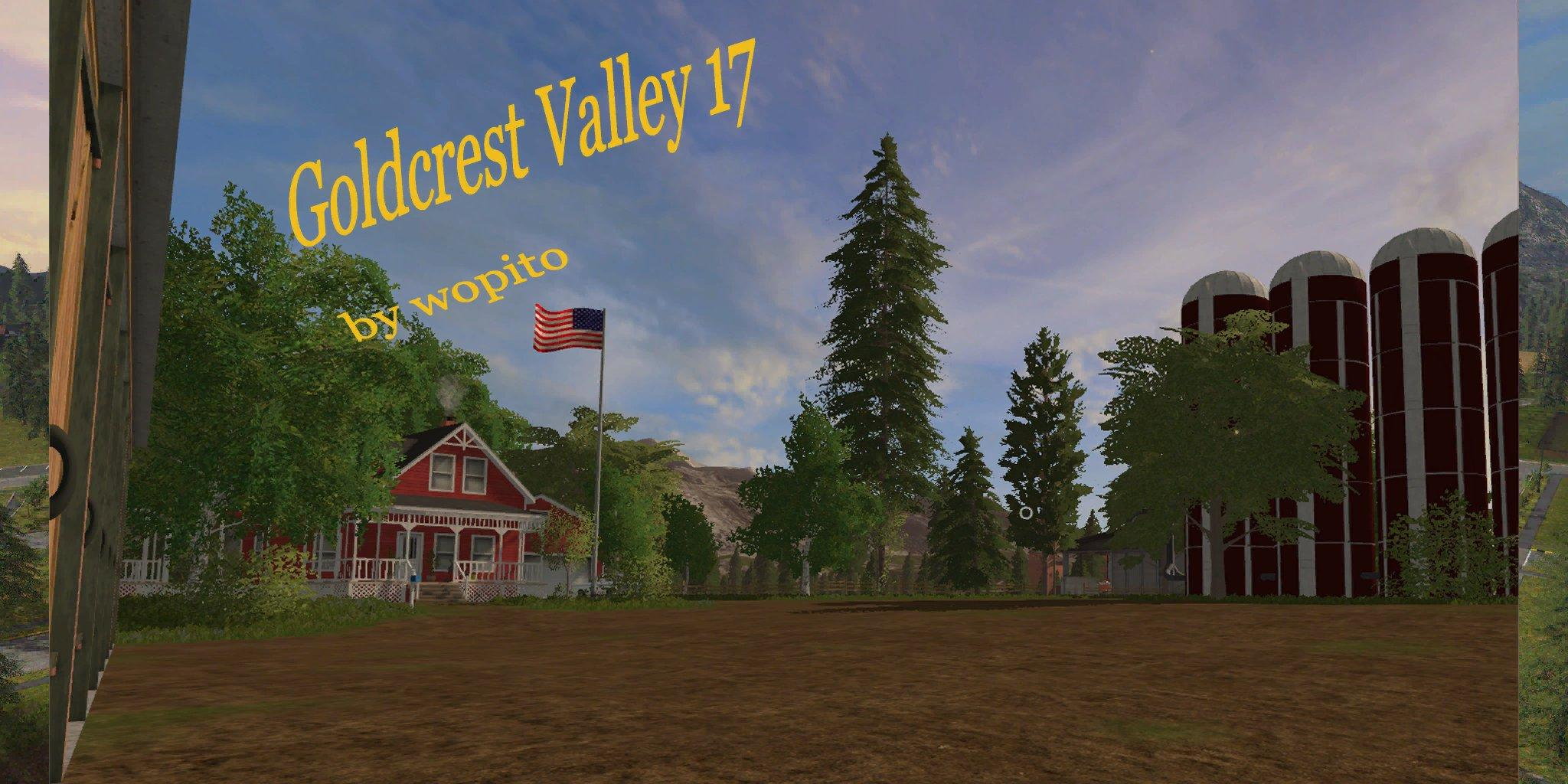 GOLDCREST VALLEY 17 BY WOPITO V1 3 1 LS17 - Farming