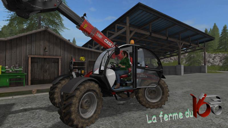 case735 farmlift LS2017 Farming simulator 17 2017 mod
