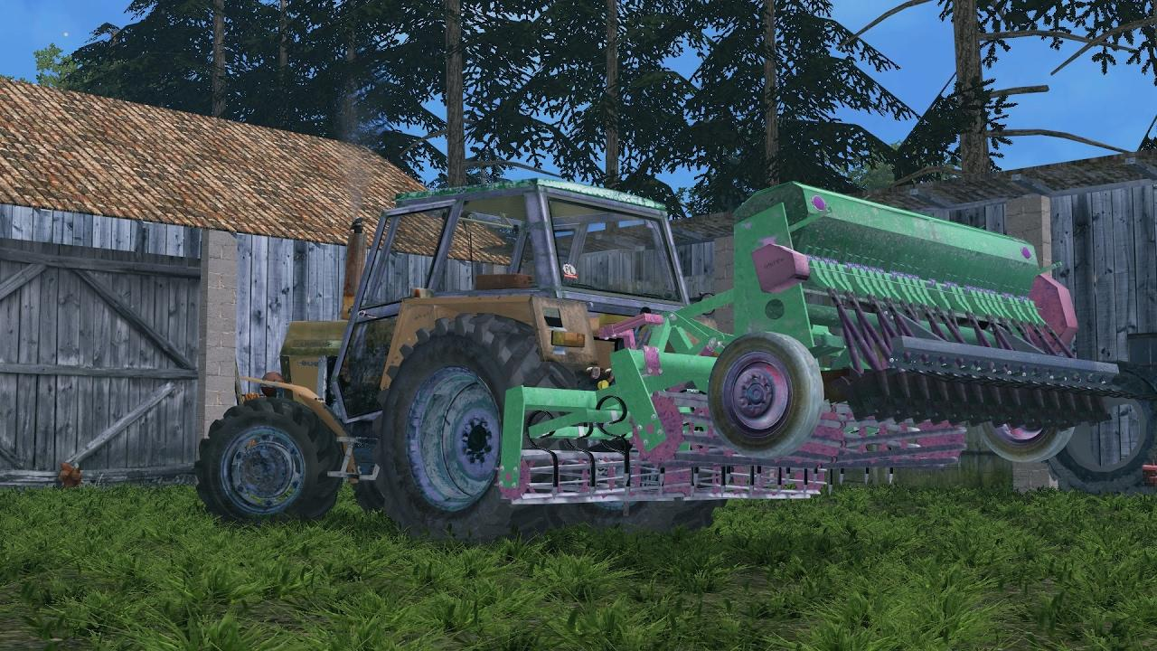 COMBINE SEED DRILL V1.0 LS17