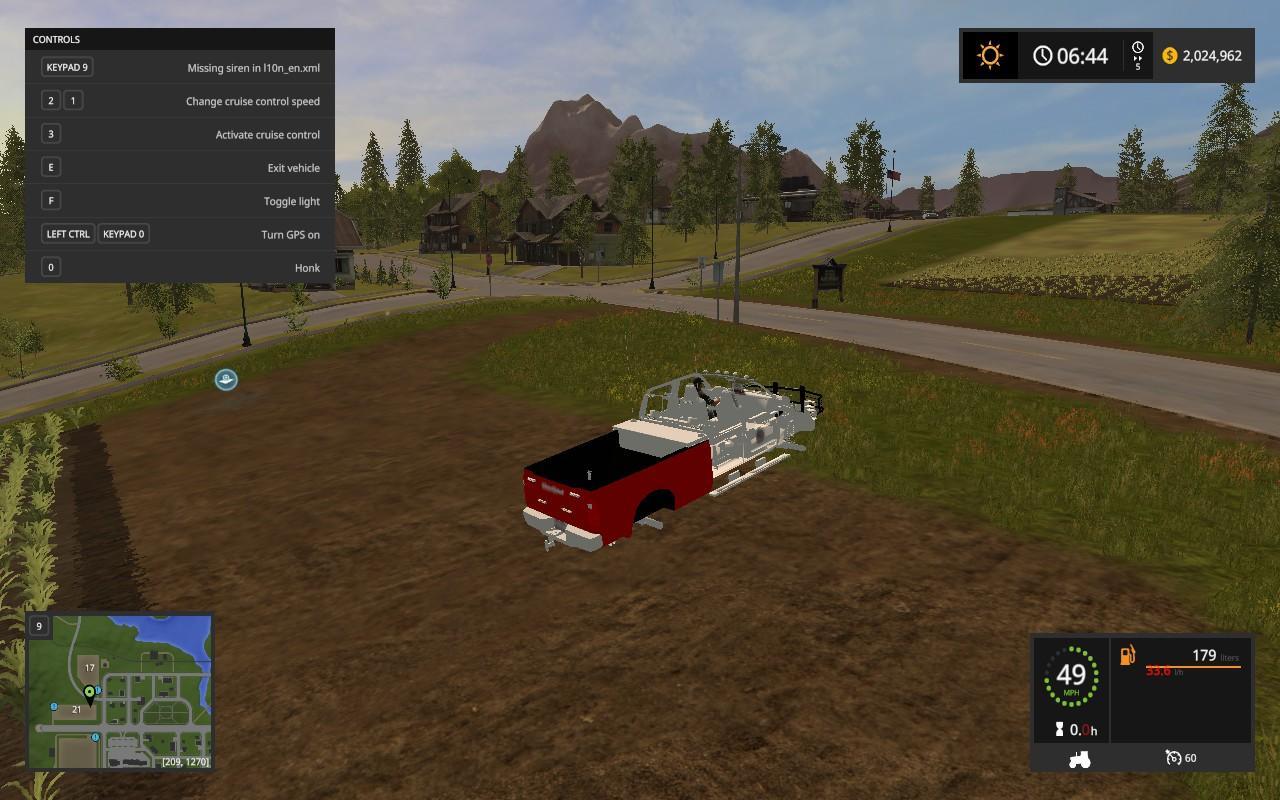 Ford Chief Truck V1 Fs17 Farming Simulator 17 2017 Mod