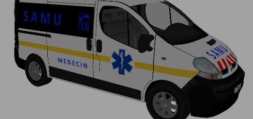 Volkswagen Crafter Emergency Doctor Skin V 3 LS17 - Farming