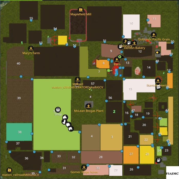 OKLAHOMA REVISED V2 1 MAP - Farming simulator 17 / 2017 mod