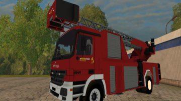 BELGIAN FIRE TOWER LADDER V1 0 FS17 - Farming simulator 17