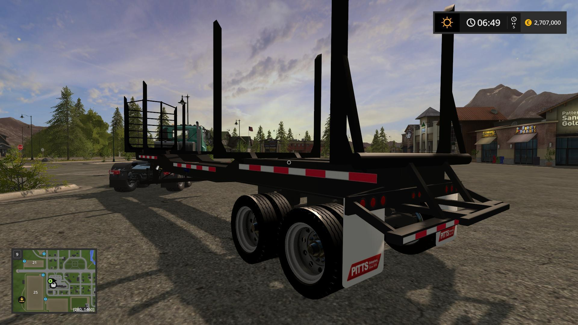 5772868503 in addition Used furthermore Numbersgeneraldetails besides 3226586501 additionally 384 Peterbilt Landscape Truck. on semi truck log trailers
