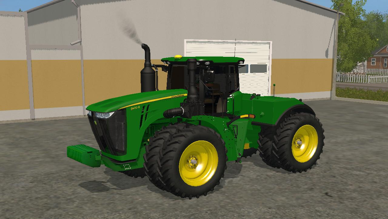 JOHN DEERE 9470R V1 TRACTOR FS17 - Farming simulator 17 ...