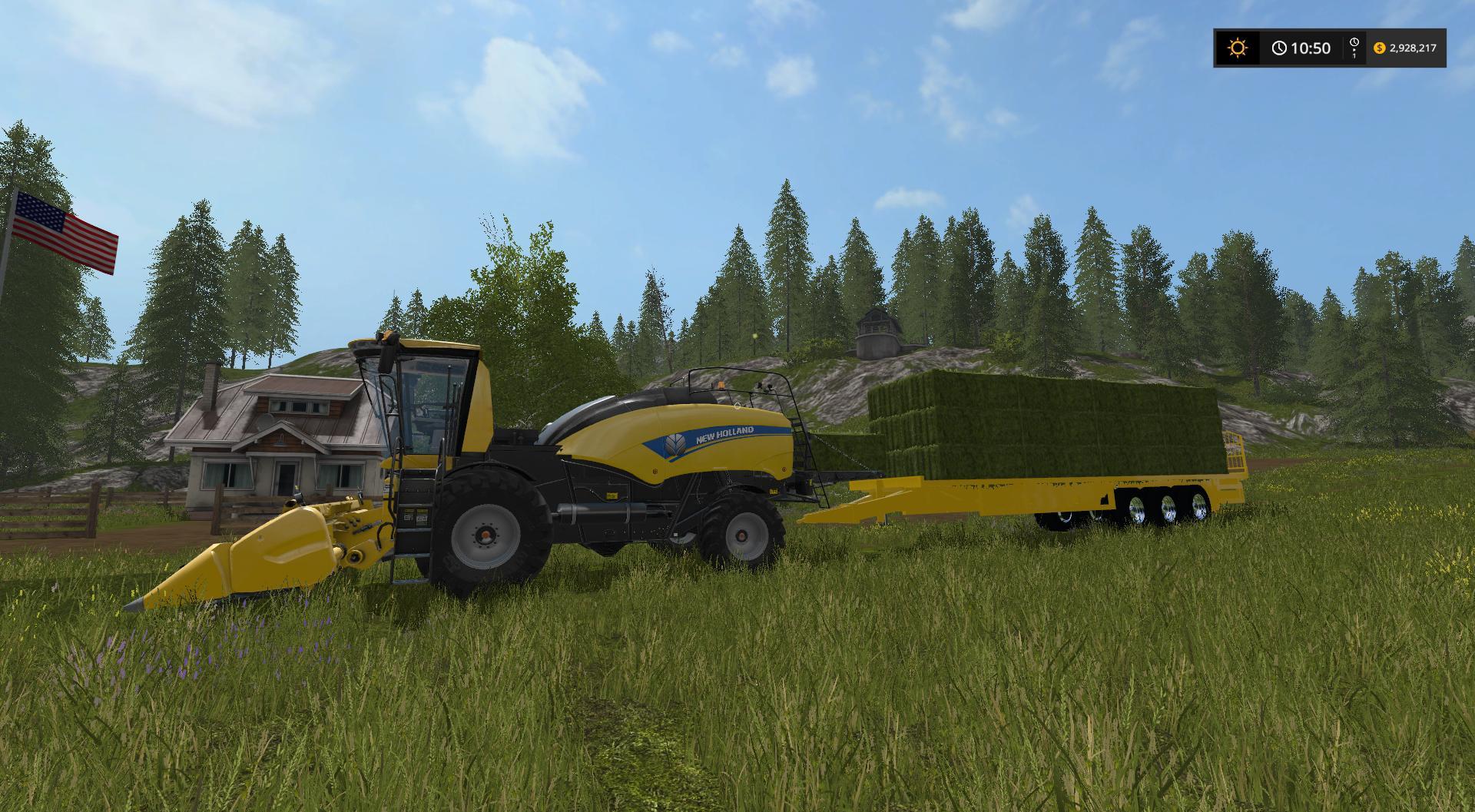 New Holland Power Baler V1 Fs17 Farming Simulator 17