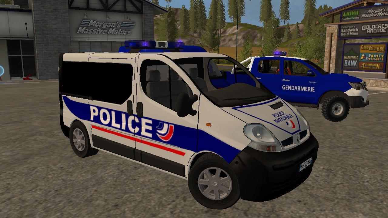 pack gendarmerie police v2 0 ls17 farming simulator 17 2017 mod. Black Bedroom Furniture Sets. Home Design Ideas