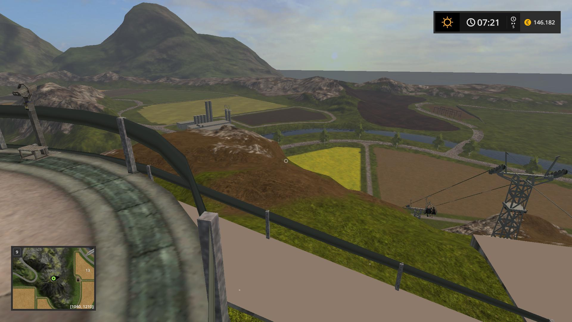 how to make farming simulator map