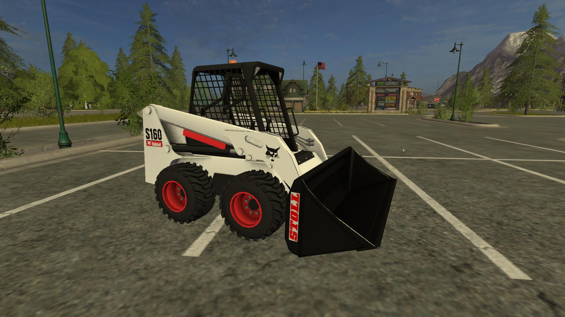 BOBCAT S160 V2 3 MOD - Farming simulator 17 / 2017 mod