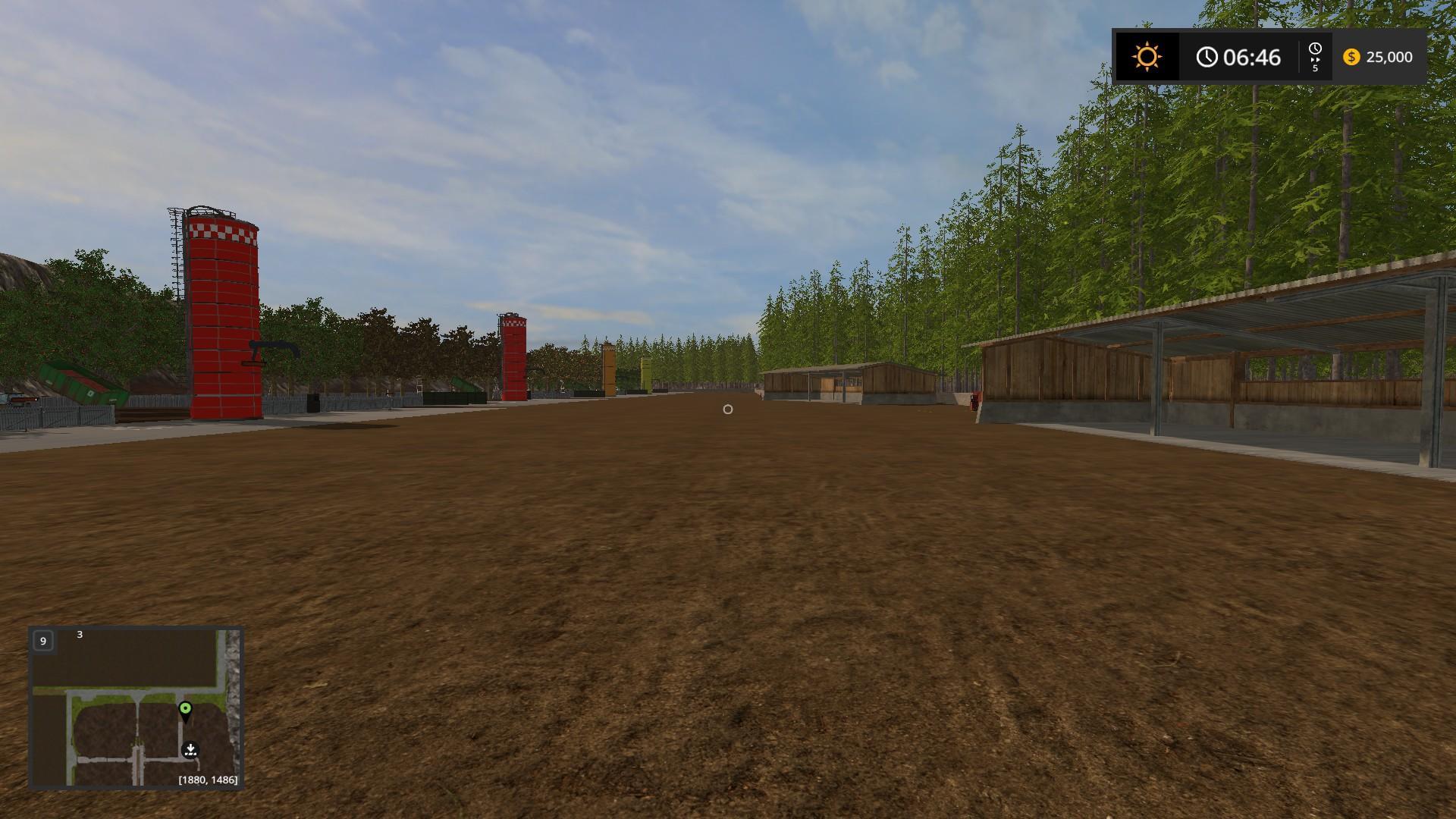 HOBBS FARM V45 MAP Farming simulator 17 2017 mod