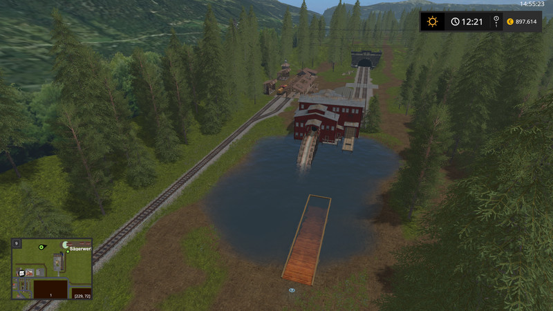 Südhemmern Private Edition V 12 MAP - Farming simulator 17 / 2017 mod