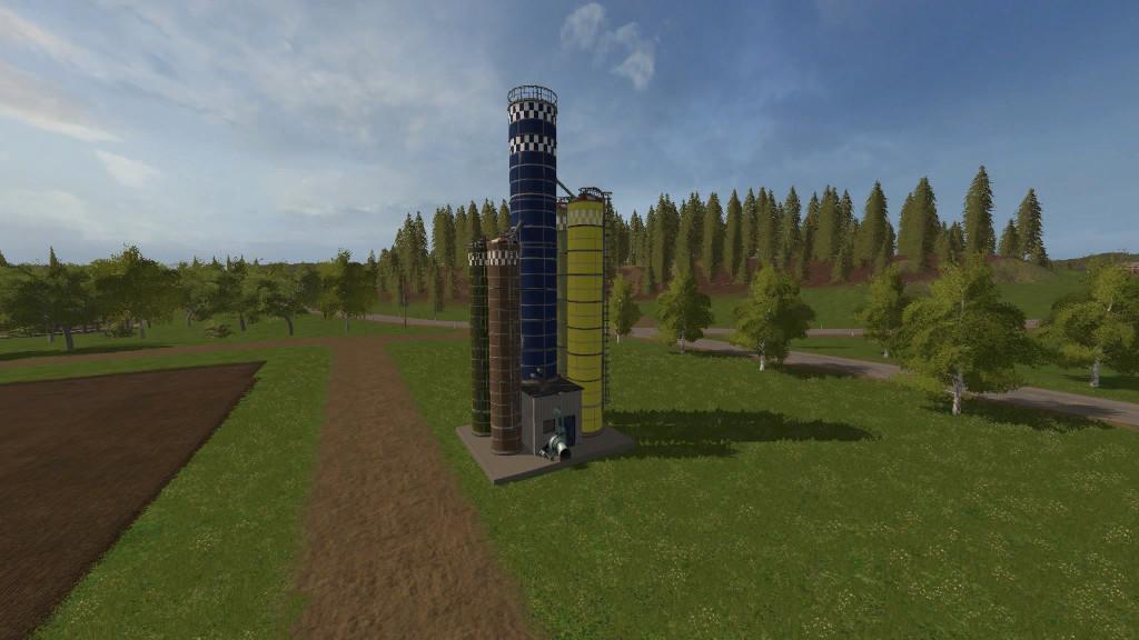 Forage And Chips Silo 1 0 0 6 LS2017 - Farming simulator 17