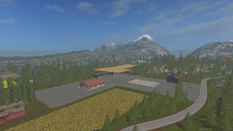 Goldcrest Valley II V 5 0 5 0 MAP - Farming simulator 17
