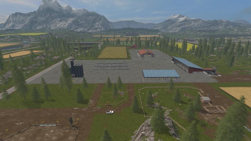 Goldcrest Valley II V 5 0 6 3 MAP - Farming simulator 17