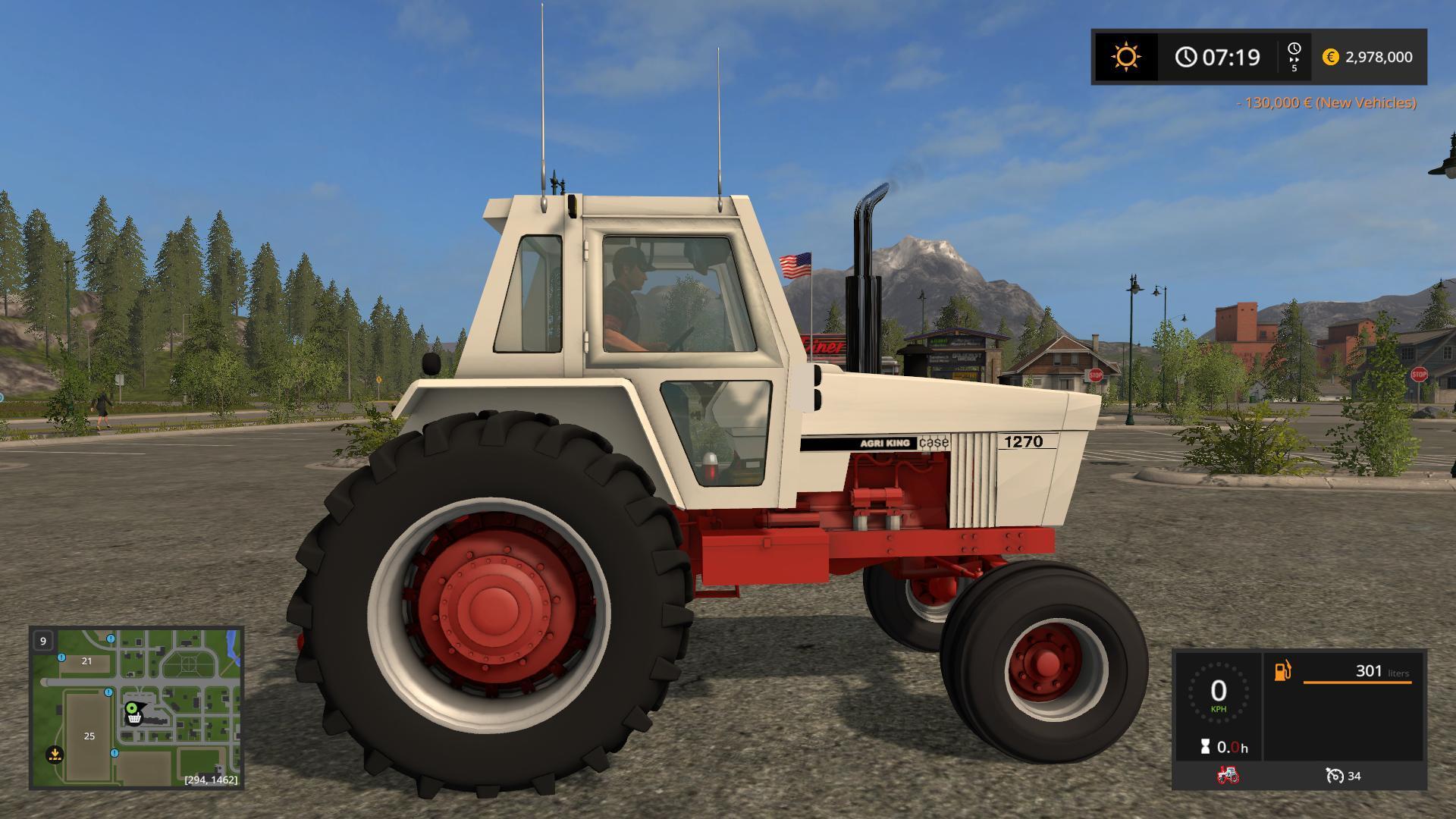 OLD IRON CASE 70 SERIES TRACTOR V1 0 MOD - Farming simulator