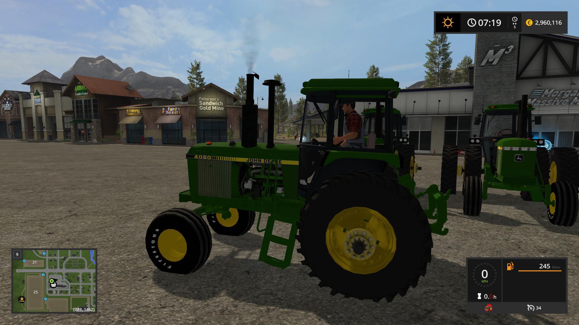 OLD IRON JD 55 SERIES 2WD V1 0 FS17 - Farming simulator 17 / 2017 mod