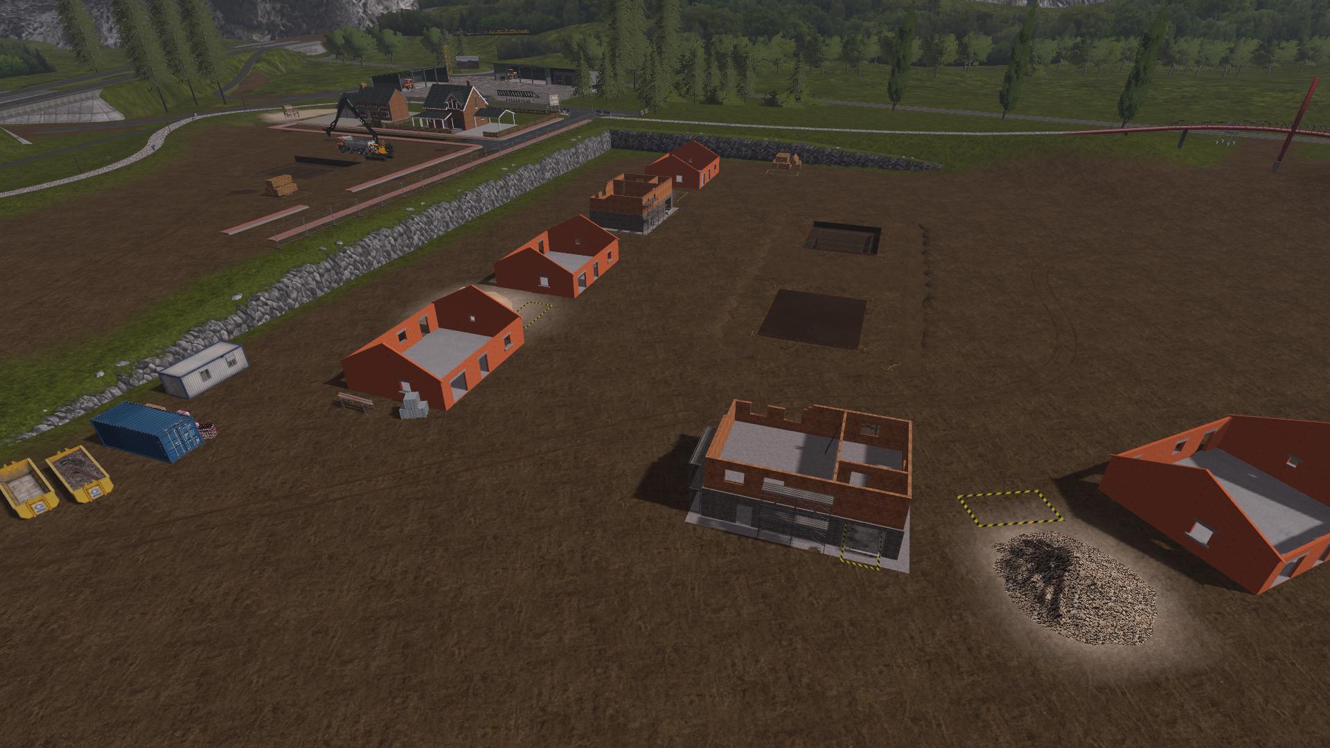 The buffalo quarry beta v1 1 map farming simulator 17 for Pack travaux