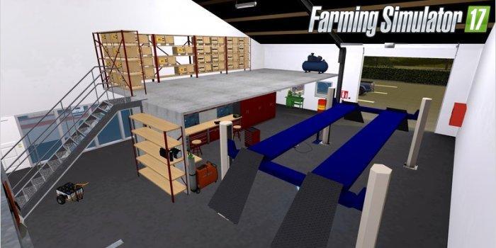 Placeable Andys Werkstatt V1 3 Fs17 Farming Simulator 17
