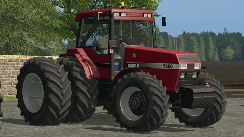 Case Magnum 7250 V 1 1 0 0 Fs17 Farming Simulator 17