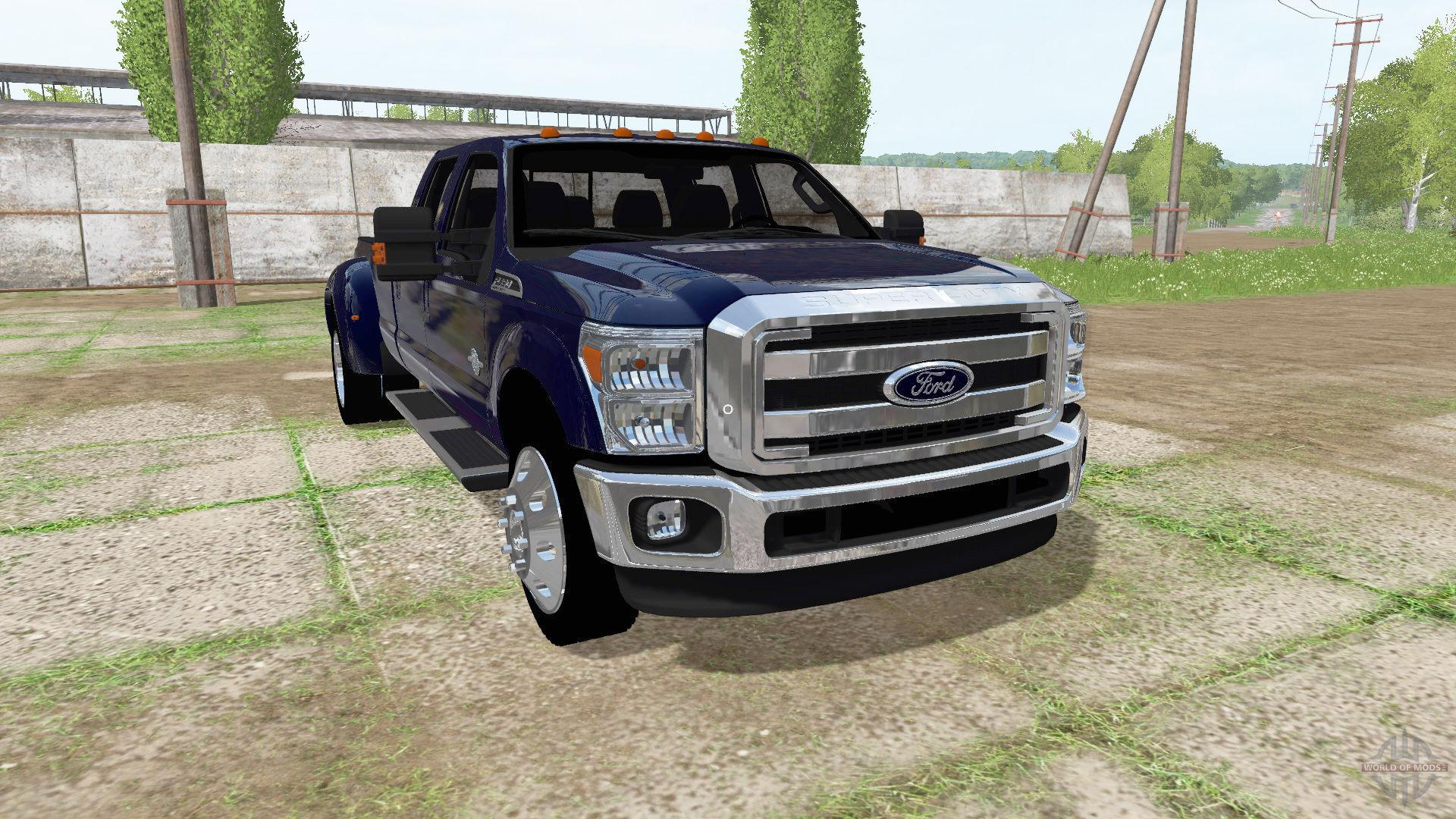 ford f 350 super duty fs17 farming simulator 17 2017 mod. Black Bedroom Furniture Sets. Home Design Ideas
