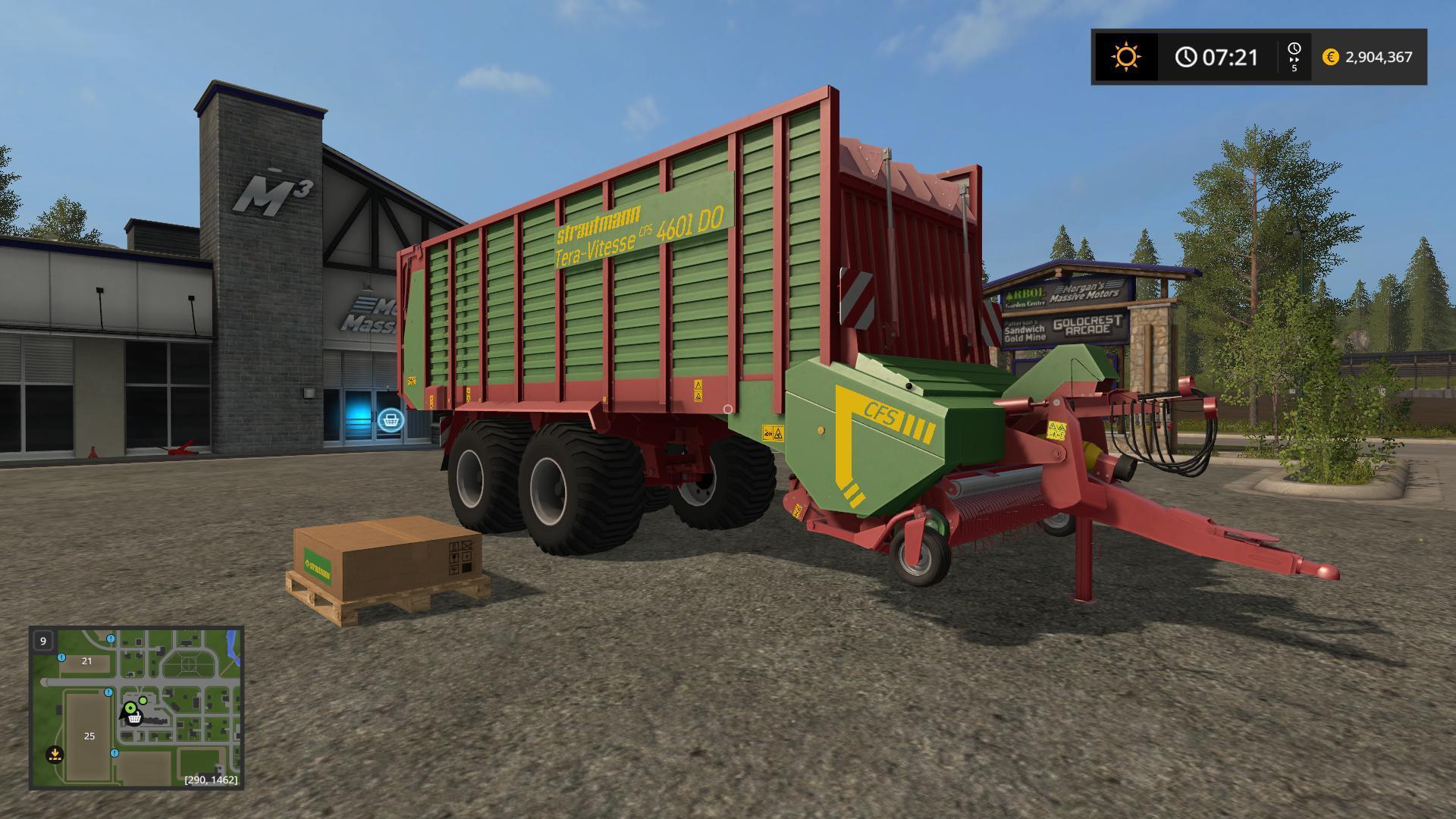 STRAUTMANN TERA VITESSE 4601 V2 0 0 FS17 - Farming simulator