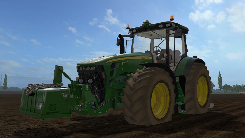 John Deere 8r V1 1 2 5 Fs17 Farming Simulator 17 2017 Mod