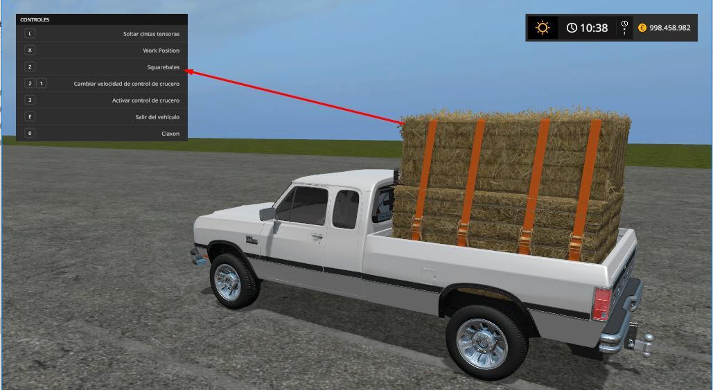 RAM W250 CUMMINS V1.0 FS17 - Farming simulator 17 / 2017 mod