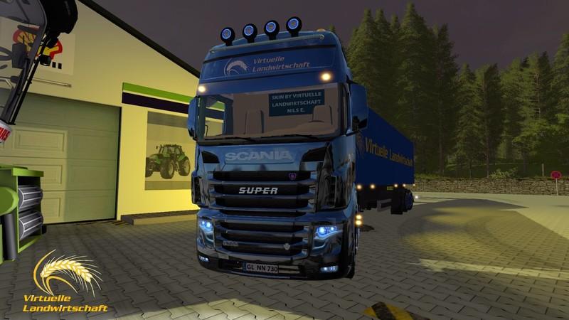 Scania R730 Virtual Agriculture V 1 0 FS17 - Farming simulator 17