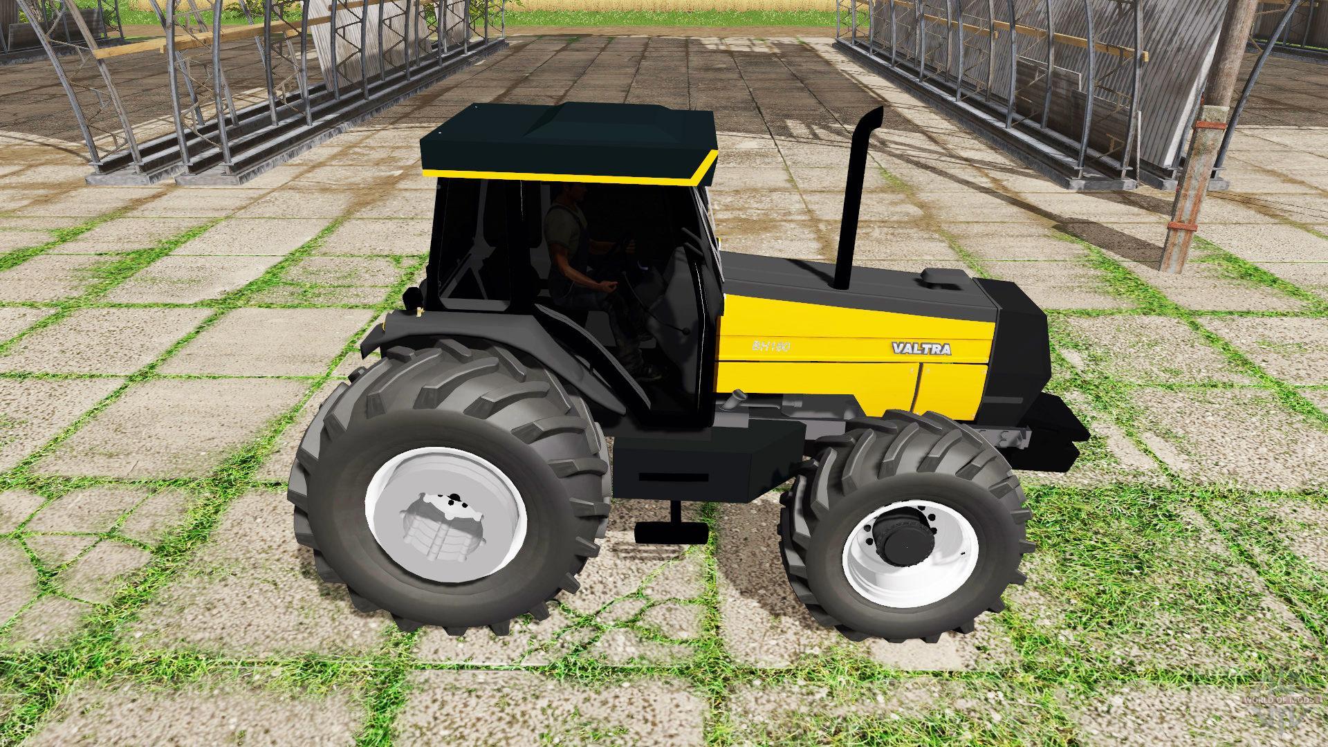 Farming Simulator Tractors : Valtra bh tractor fs farming simulator  mod