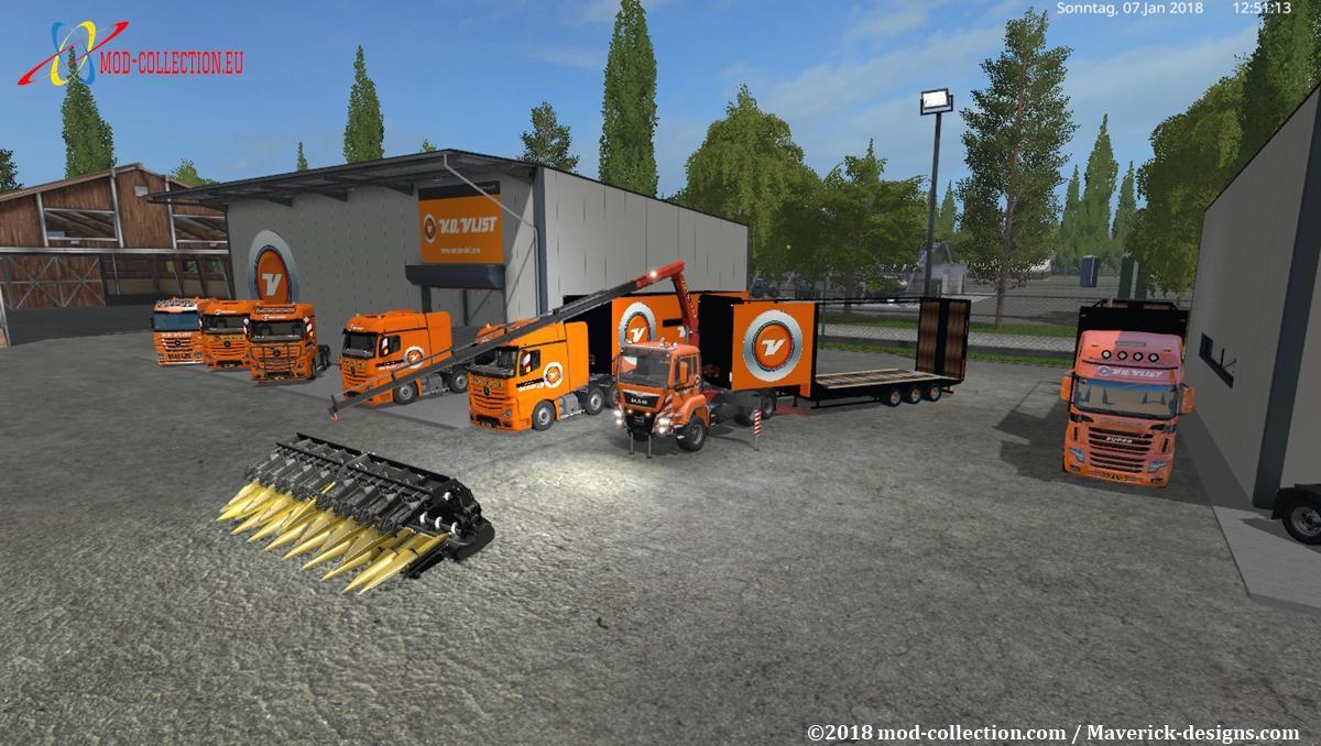 Van der vlist pack v4 0 fs17 farming simulator 17 2017 mod for Pack travaux