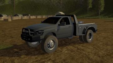 2008 Dodge Ram Flatbed edit FS17 - Farming simulator 17