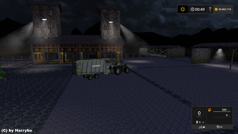 Grass and Straw Storage (placeable) V 1 0 FS17 - Farming
