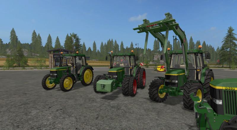 John Deere 6410 V 1 0 0 0 FS17 - Farming simulator 17 / 2017 mod