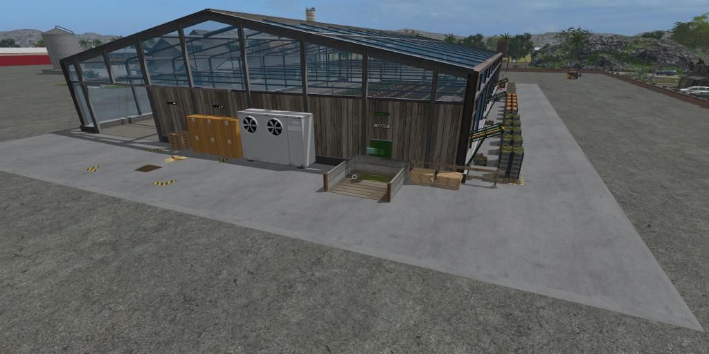Lettuce greenhouse v1 0 fs17 farming simulator 17 2017 mod for Home building simulator