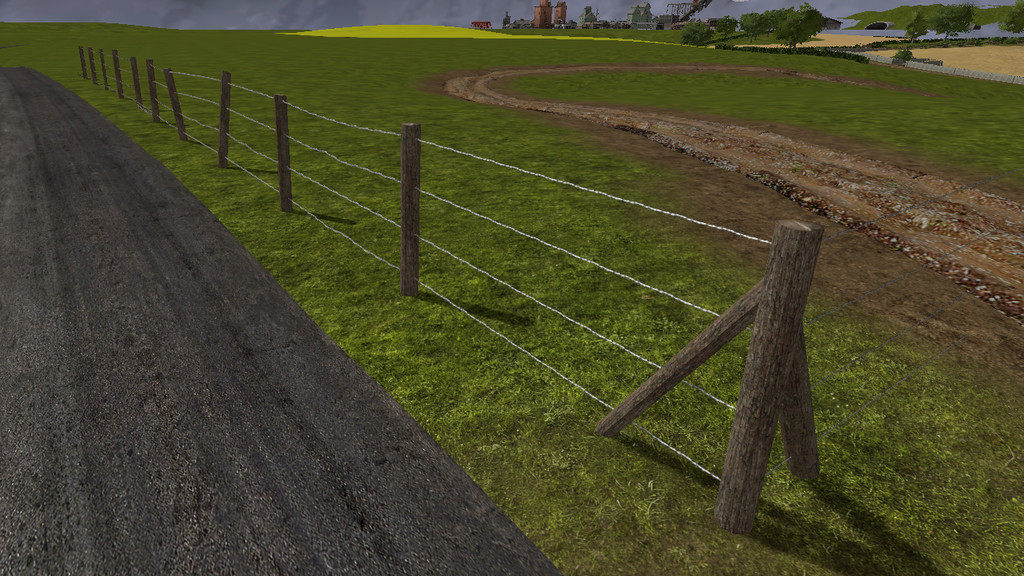 Barbed Fence Kit Fs17 Farming Simulator 17 2017 Mod