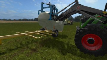 Home Made Bale Trailer v1 0 1 0 FS17 - Farming simulator 17 / 2017 mod