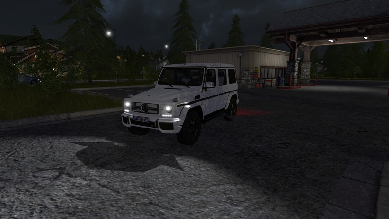 Mercedes G65 (More Realistic) V 1 0 FS17 - Farming simulator