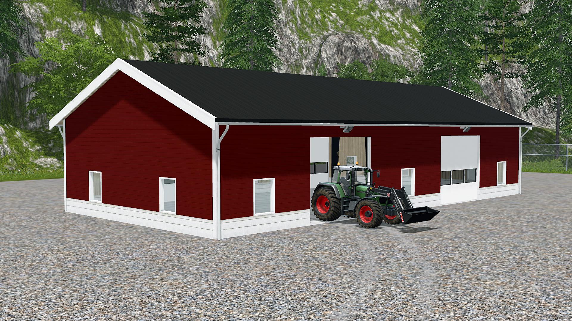Nordic farm buildings v1 0 fs17 farming simulator 17 for House building simulator online