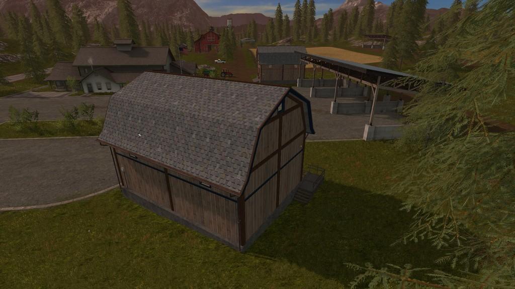 Storage Barns 1 0 1 0 FS17 - Farming simulator 17 / 2017 mod