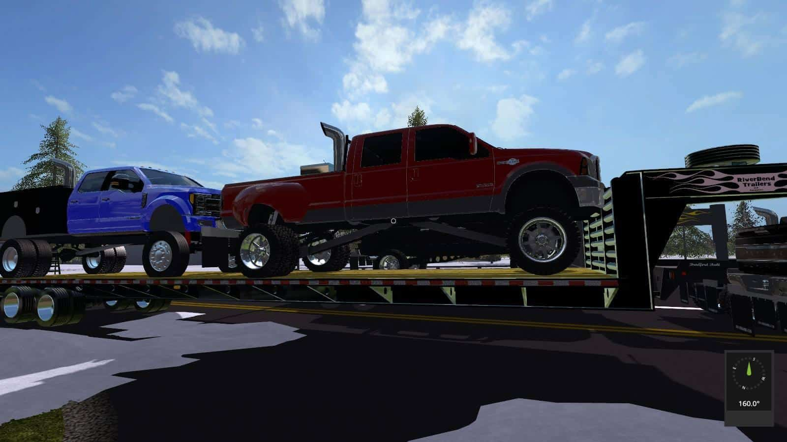 Ford F150 Black Ops >> LIFTED FORD TRUCKS PACK UNZIP V1.0 FS17 - Farming simulator 17 / 2017 mod