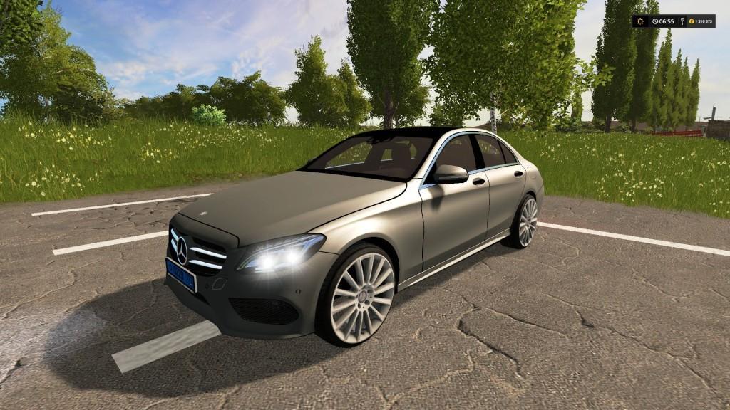 Mercedes benz c250 amg v1 0 fs17 farming simulator 17 for Mercedes benz 0 apr