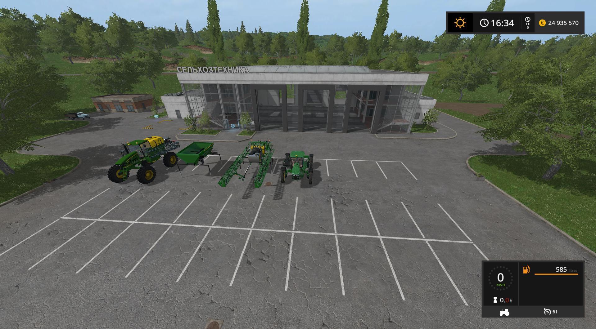 PACK OUTILS JOHN DEERE V1 0 FS17 - Farming simulator 17