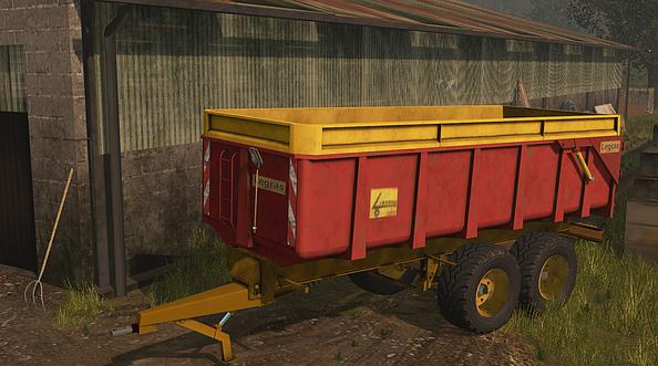 Remorque Plateau Pack v1 0 FS17 - Farming simulator 17 / 2017 mod