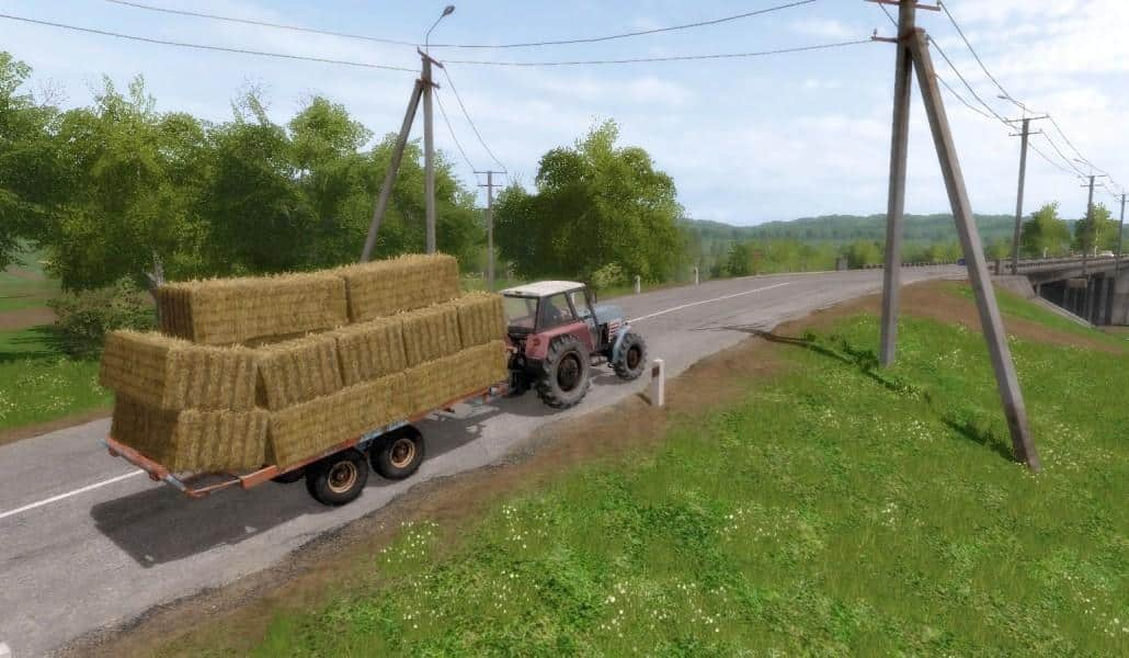 T088 Bale trailer (Autoload) FS17 5 - Farming simulator 17 / 2017 mod