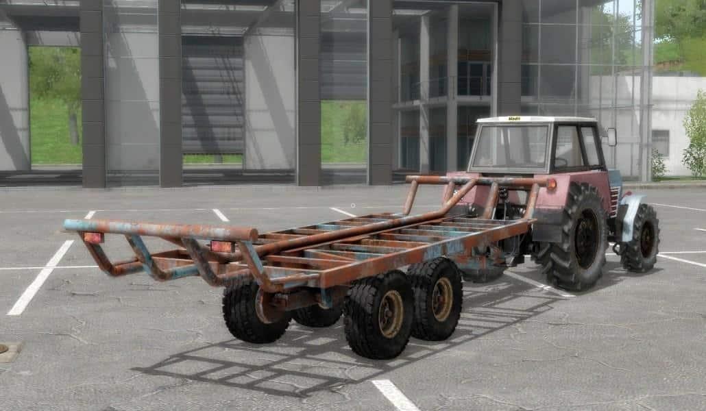 T088 Bale trailer (Autoload) FS17 - Farming simulator 17 / 2017 mod